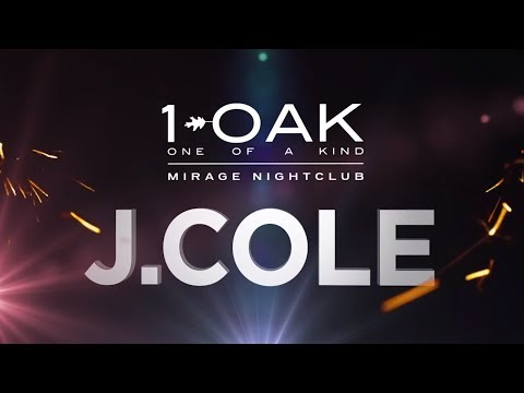 Light Group New Year's Eve 2014 Las Vegas - J. Cole at 1 OAK