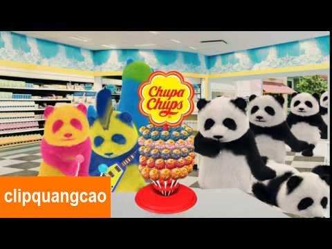 Quảng Cáo Kẹo Chupa Chups Gấu Panda Đổi Màu Cực Kì Đáng Yêu [FULL]