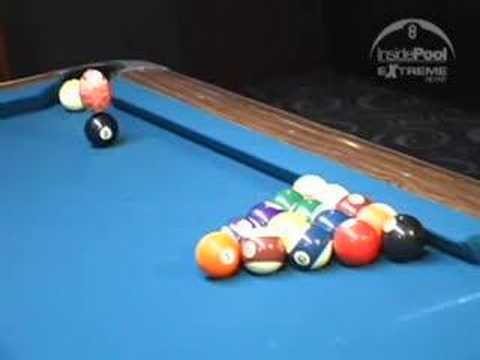 Pool Trick Shot Off the Hook