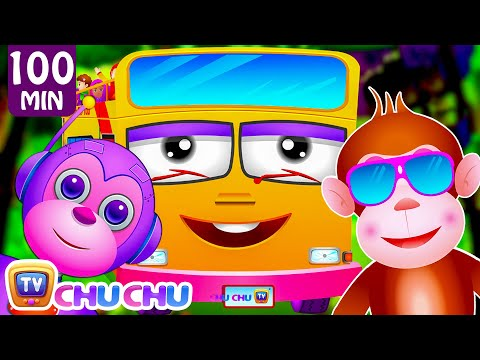 Five Little Monkeys, Wheels On The Bus and Many More Popular Nursery Rhymes Collection By ChuChu TV