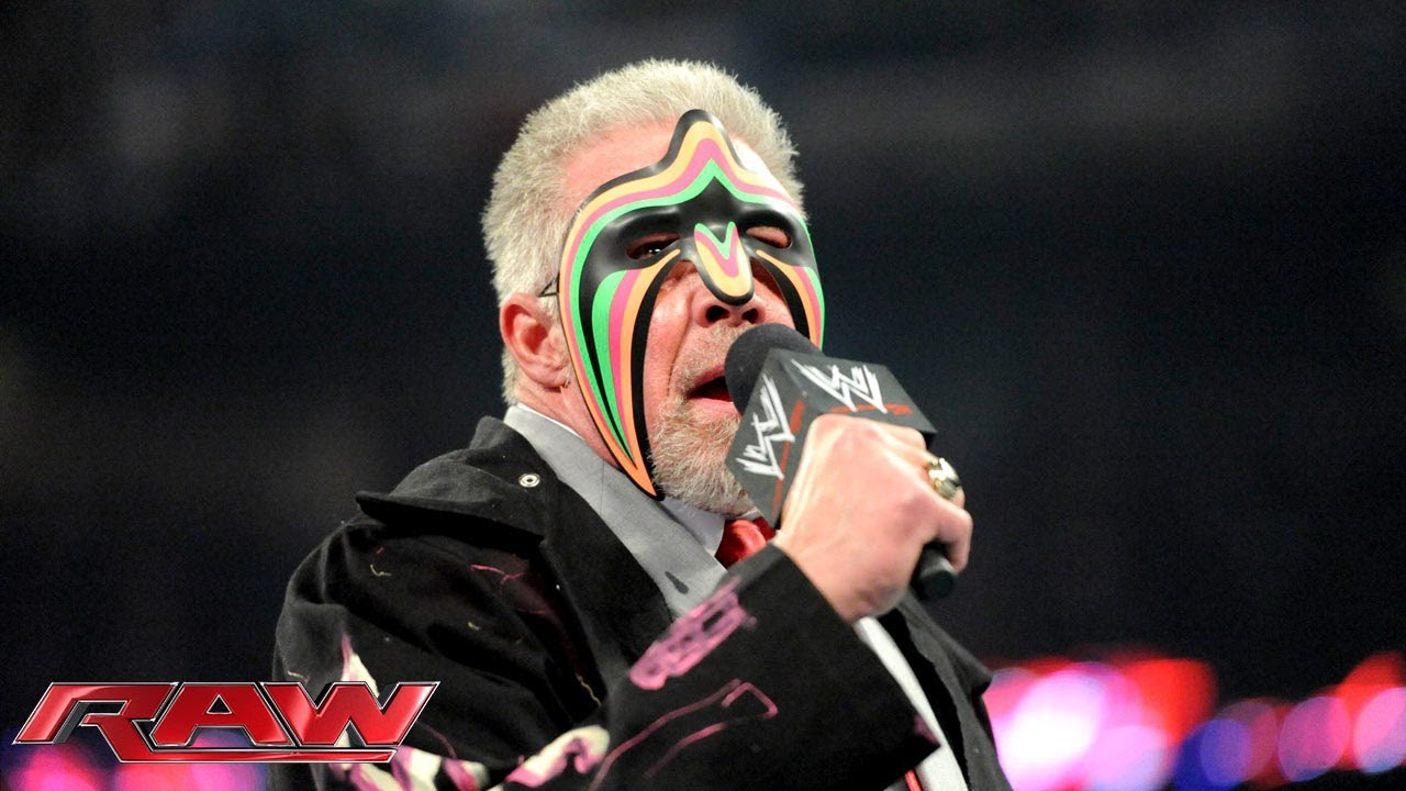 Ultimate Warrior 2012 Return 2014 WWE Hall of Famer...