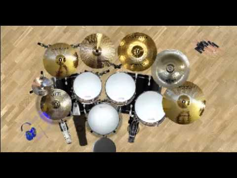 Rectavia - Welcome to Lajang cover (Dvd Drum Cover)