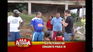 Moradores do Conjunto Paulo VI pedem h� 30 anos que via seja asfaltada