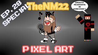 Smooth McGroove in Minecraft - TheNM22 Pixel Art