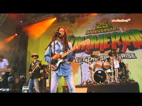 Julian Marley & The Uprising - Running Away - 2010 07 03 - Rockpalast