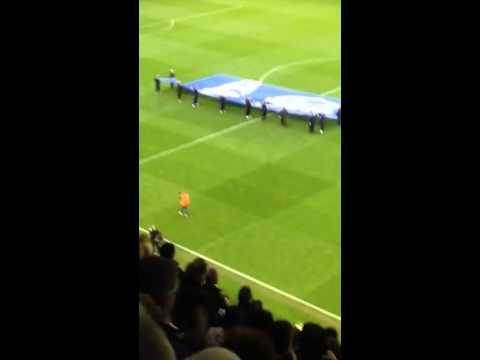 Roberto Martinez Everton lap of honour