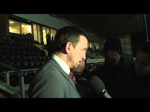 Justin Edinburgh Post-Match v Burton 29/12/13