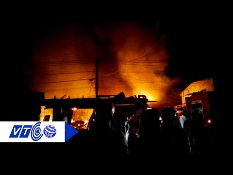 Cháy chợ Sơn, thiệt hại trên 45 tỷ đồng | VTC