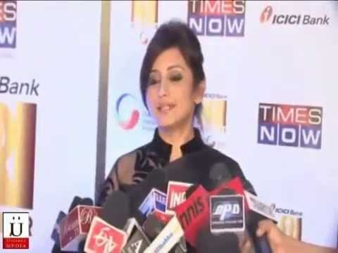 Pooja Bedi, Anupam Kher And Aftab Shivdasani At NRI of The Year Awards