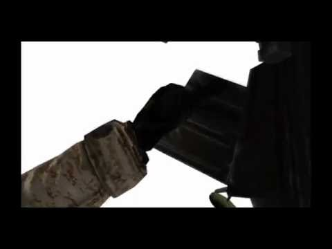 BF2 M82A1 Barrett MW2 Animation