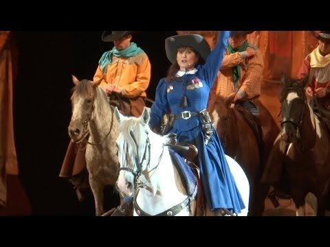 Buffalo Bill's Wild West Show Highlights 2013 at Disneyland Paris