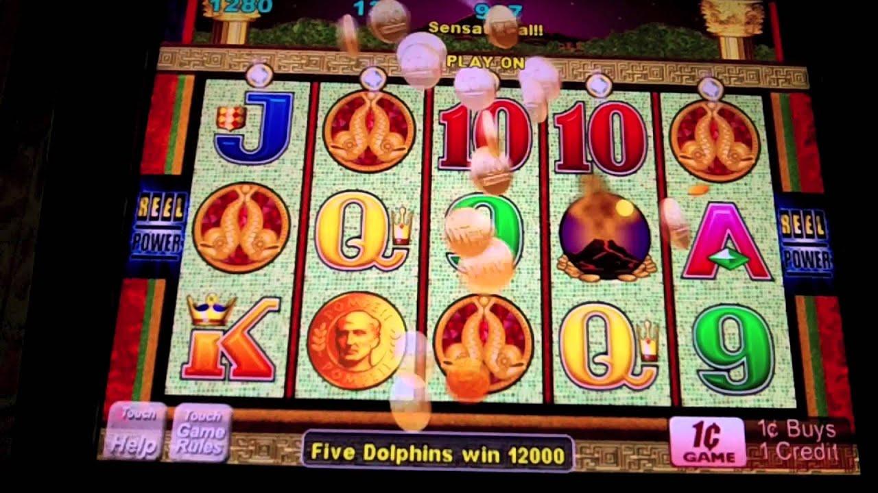 Pompeii slot machine jackpot this month
