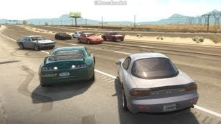 Forza Horizon 1/4 Mile Highway Drags