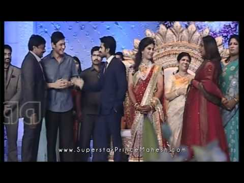 Superstar Mahesh and Namrata at Ram Charan - Upasana Reception