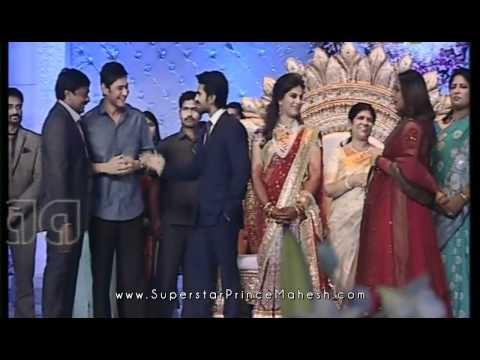 Superstar Mahesh and Namrata at Ram Charan - Upasana Reception