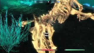 The Elder Scrolls V: Skyrim Cave Devil Easter Egg