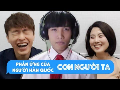 Phản ứng của người hàn quốc khi xem Clip Con Người Ta // 꼰 응어이 따 리액션