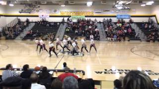 Lubbock High School Pom Squad- Competition Hip Hop 2015