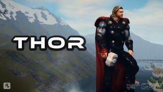 THOR Visits GTA 4 Thor Mod + Fus Ru Dah