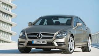 All-New 2012 Mercedes CLS 350 - In/Out/Driving [HD] videos