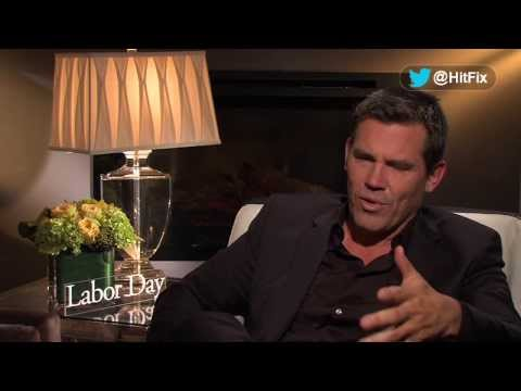 Josh Brolin on why he made Kate Winslet laugh on set of 'Labor Day'