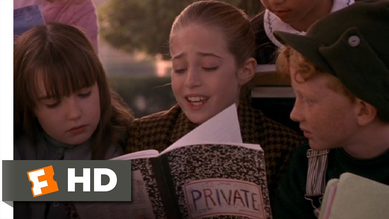harriet the spy 710 movie clip the private notebook