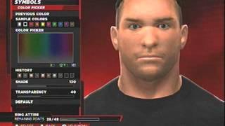 WWE 2k14 RVD CAW Formula
