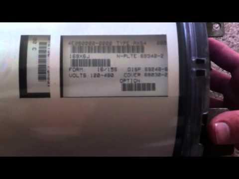 Electric Meter Landis Gyr