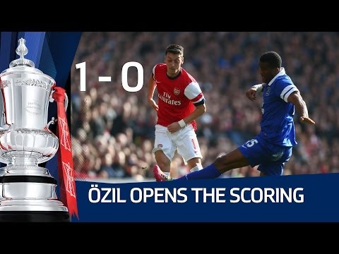 MESUT ÖZIL GOAL: Arsenal vs Everton 4-1 FA Cup Sixth Round HD