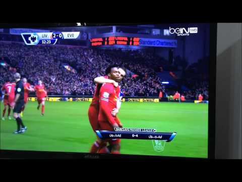 Liverpool vs Everton 4-0 ( 28/1/2014 )
