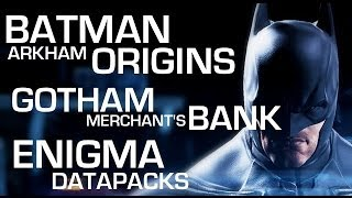 Batman: Arkham Origins Enigma Datapacks Gotham Merchants
