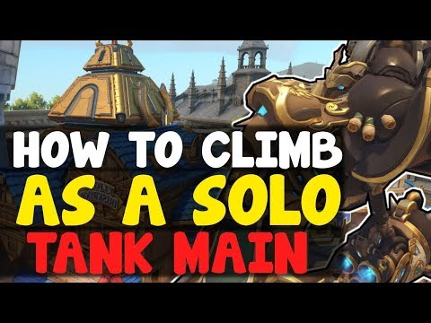 How To Climb As A Tank Main | Overwatch Competitive Season 9 Ranked Tips / Guide - Escape Gold