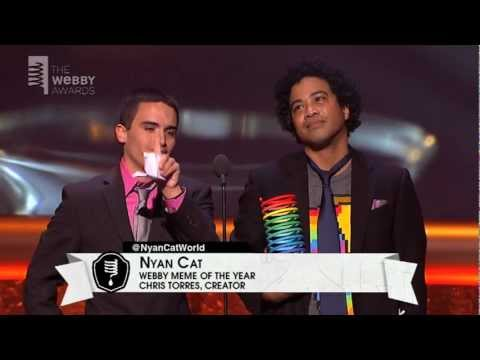 Nyan Cat's 5-Word Speech at the 16th Annual Webby Awards