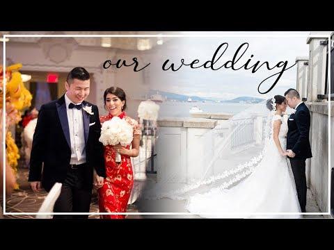 中国留学生和外国美女的百万婚礼剪辑
