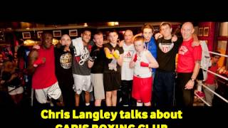 """CARIS BOXING CLUB """"BOXING FOR THE HOMELESS"""""""
