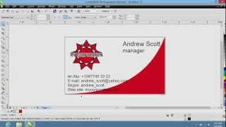 How To Create Business Cards In CorelDraw
