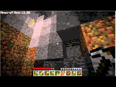 NightmareRH Playing Minecraft Vid 25 - New Cave To Dig Out