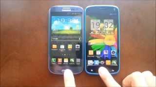General Mobile Discovery vs Samsung Galaxy S3 karşılaştırma