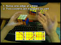 Tutorial: Solve the Rubik's Cube blind