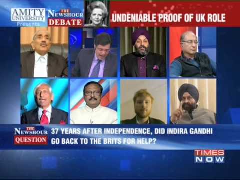 The Newshour Debate: Brits guided Operation Blue Star - Full Debate (15th Jan 2014)