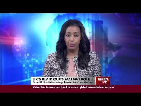 UK's Blair quits Malawi role