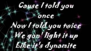 Dynamite Taio Cruz ( Onscreen Lyrics )