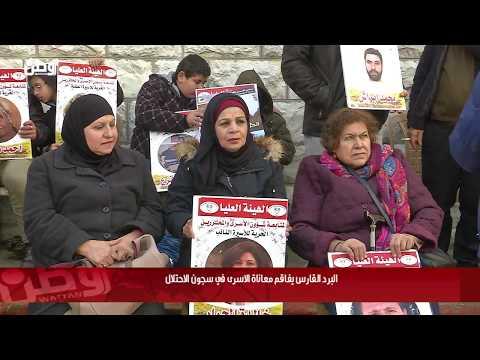 البرد القارس يفاقم معاناة الاسرى في سجون الاحتلال