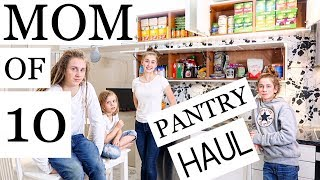 MOM OF 10 / PANTRY HAUL/TOUR - PLANT-BASED/VEGAN