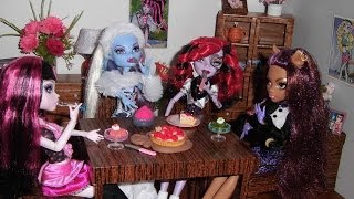 Casa Das Monster High: Sala De Jantar (Dolls' Dining Room