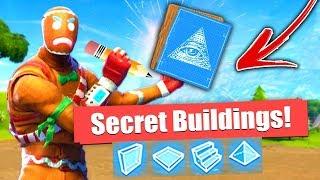 How to Build *Secret* Buildings in Fortnite Battle Royale