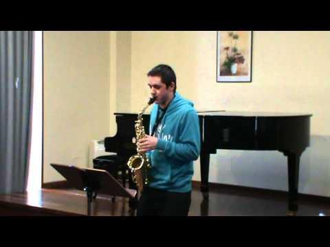 Aula Galega de Saxofón – Estudio Nº 20 de W. Ferling