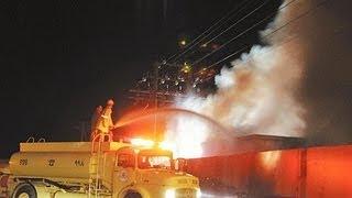 فيديو حريق عين دار والتفاصيل
