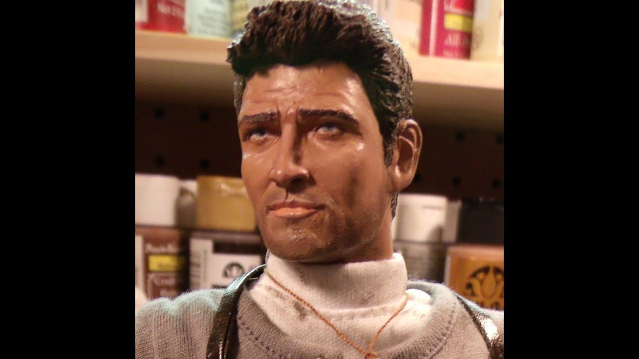 Custom hot toys 1 6 scale nathan drake uncharted 2 figure by marshall