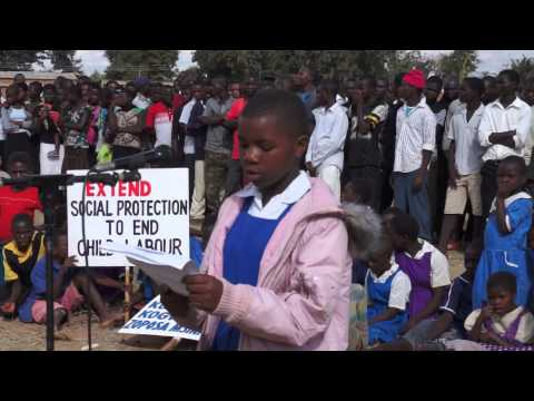 CHILDREN VOICE OUT ON WORLD DAY AGAINST CHILD LABOUR